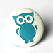 Woodland Owl Two-Toned Engraved Gloss KAM Snaps Size 20