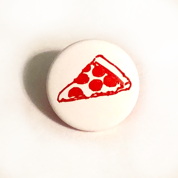 100ct Caps - Pepperoni Pizza Two-Toned Engraved Gloss KAM Snaps Size 20
