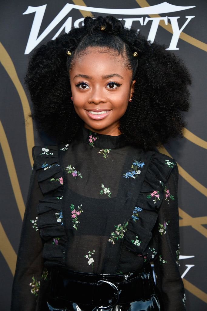 "Get The Look: Skai Jackson's ""Power of Young Hollywood"" Puff"