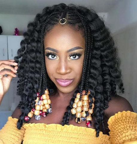 6 Ways To Add Beads To Your Braided Hairstyle Latched Hooked