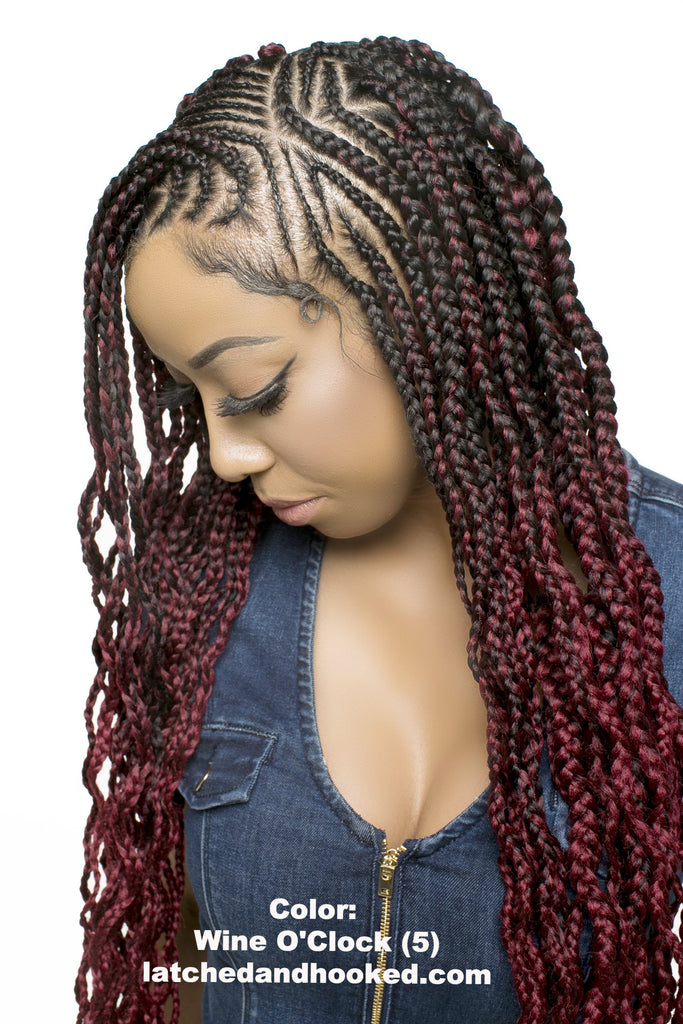 2 Toned Ombre Braiding Hair