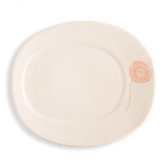 Rosy Rings Ceramic Oval Petite Plate - Poppy - Home & Gift - SierraLily