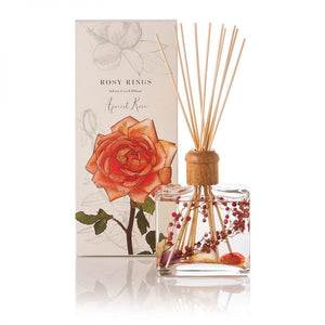Rosy Rings Signature Collection Botanical Reed Diffuser - Apricot Rose