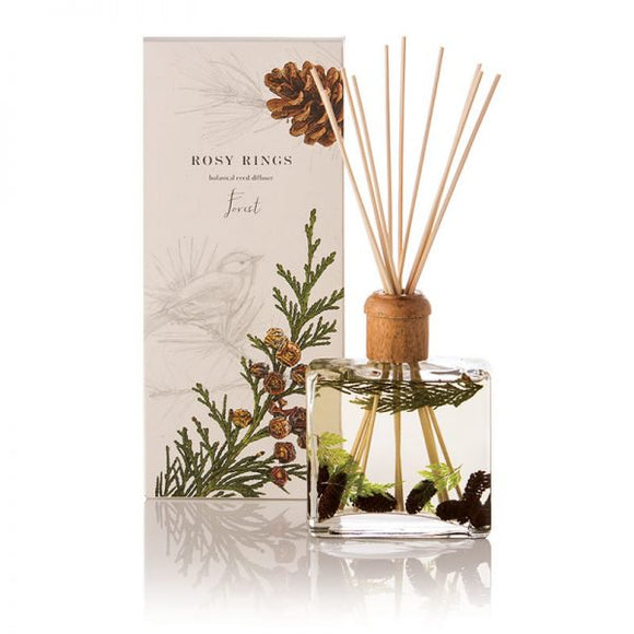 Rosy Rings Signature Collection Botanical Reed Diffuser - Forest