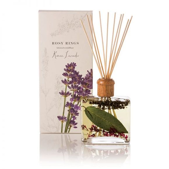 Rosy Rings Signature Collection Botanical Reed Diffuser - Roman Lavender