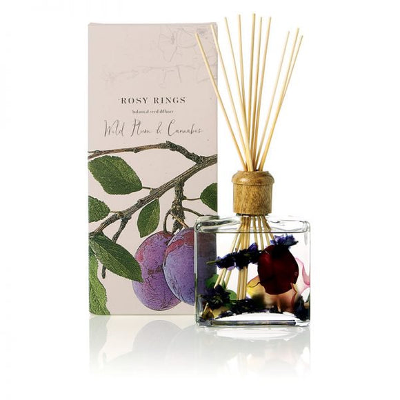 Rosy Rings Signature Collection Botanical Reed Diffuser - Wild Plum & Cannabis - Home & Gift - SierraLily
