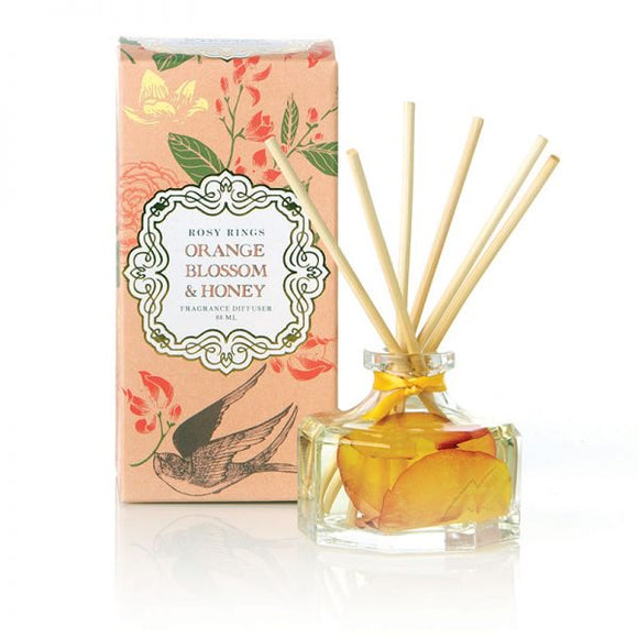 Rosy Rings Petite Collection Oval Botanical Candle - Orange Blossom & Honey