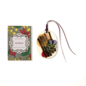 Rosy Rings Petite Collection Oval Botanical Wax Sachet - Boheme