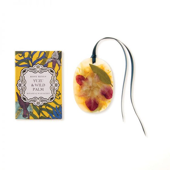 Rosy Rings Petite Wax Sachet - Yuzu Palm - Home & Gift - SierraLily