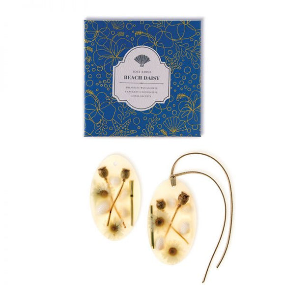 Rosy Rings Signature Collection Oval Botanical Wax Sachets - Beach Daisy - Home & Gift - SierraLily