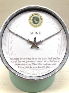 Spartina Shine Silver Necklace