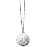 Brighton Trust Your Journey Wave Pendant Necklace Red