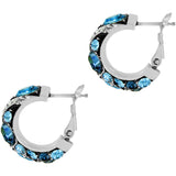 Brighton Trust Your Journey Wave Hoop Earrings