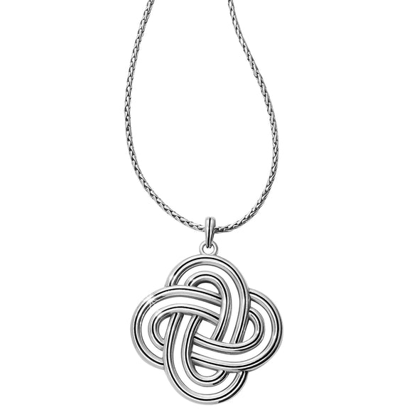 Brighton Interlok Spiral Statement Convertible Necklace
