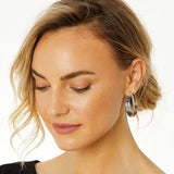Brighton Neptune's Rings Duo Large Hoop Earrings