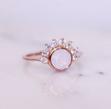 """Lois"" Ring in Pink Rosewater Swarovski® - Jewelry - SierraLily"