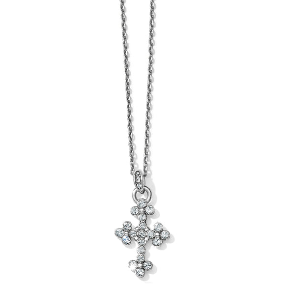 Brighton Abbey Cross Necklace