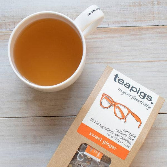 Teapigs Sweet Ginger Tea - 15 Temples