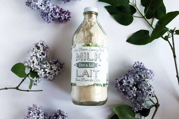 Dot & Lil Lilac Flower Milk Bath