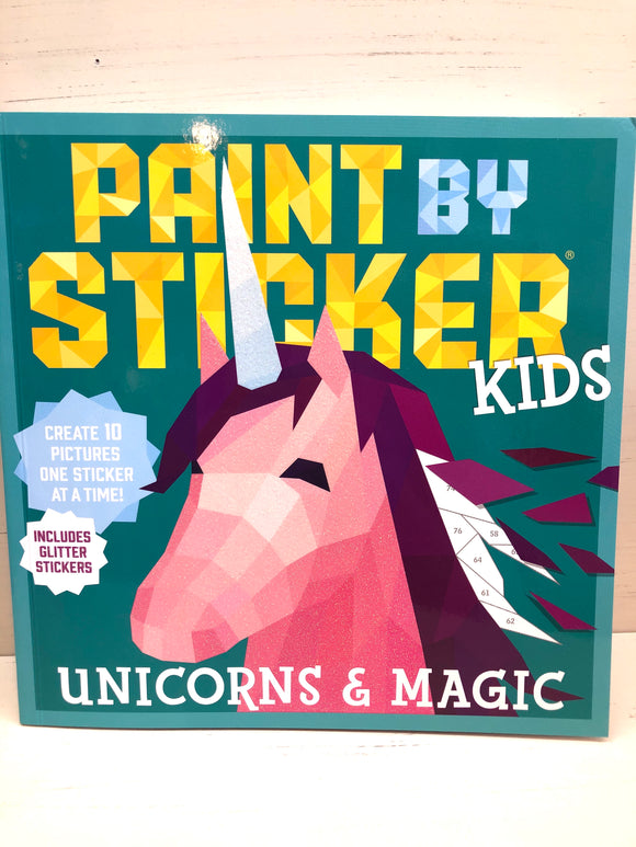 Paint by sticker kids-Unicorns & Magic Workman Publishing Co.