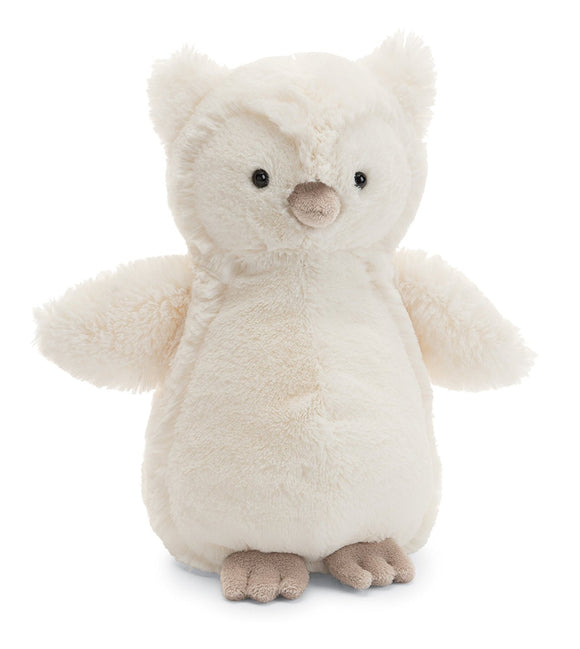 Jellycat Bashful Owl Cream - 12