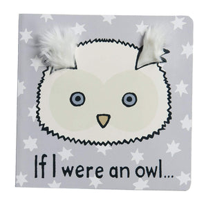 "Jellycat Board Books, If I Were an Owl - 6"" -  - SierraLily"
