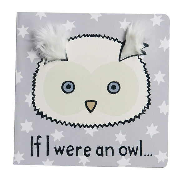 Jellycat Board Books, If I Were an Owl - 6