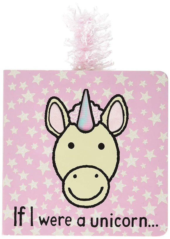 Jellycat Baby Touch And Feel Board Books, If I Were A Unicorn - Children, Baby - SierraLily