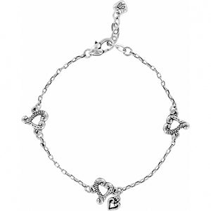Brighton Tuscan Heart Anklet
