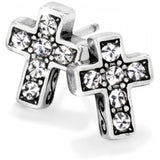 Starry Night Cross Mini Post Earrings - Jewelry - SierraLily