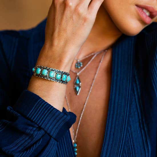 Sowell Jewelry Rayna Turquoise Cuff