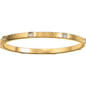 Meridian Zenith Station Bangle Gold - Jewelry - SierraLily