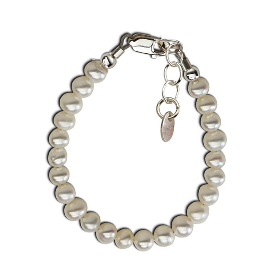 Cherished Moments Zoey - Sterling Silver Pearl Bracelet