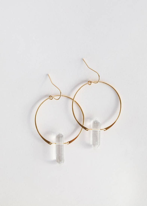 Crystal Hoops - Jewelry - SierraLily