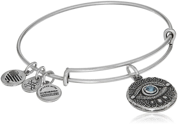 Alex and Ani Evil Eye Bangle Bracelet Expandable - Jewelry - SierraLily