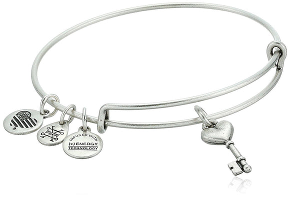 Alex and Ani Key to Love Expandable Bracelet - Jewelry - SierraLily