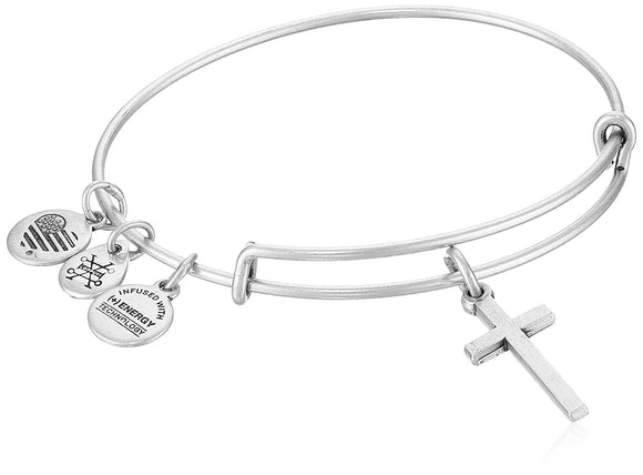 Alex and Ani Womens Cross II Bangle Bracelet - Jewelry - SierraLily