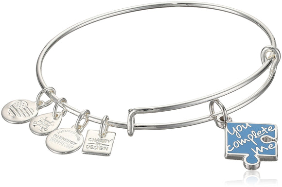 Alex and Ani Womens Charity By Design You Complete Me Bangle Bracelet - Jewelry - SierraLily