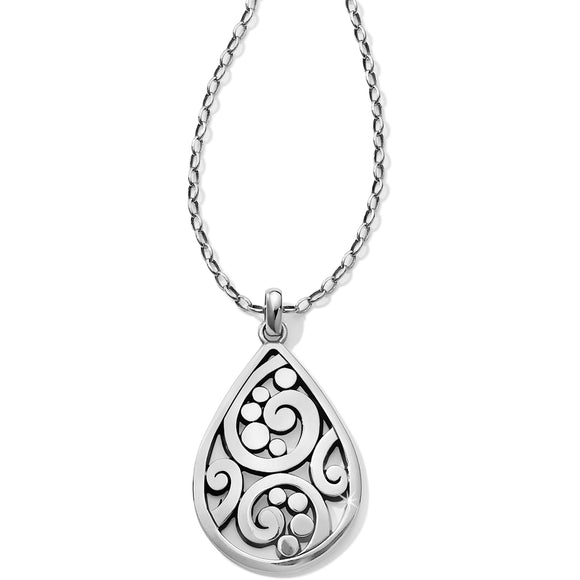 Brighton Contempo Convertible Teardrop Necklace
