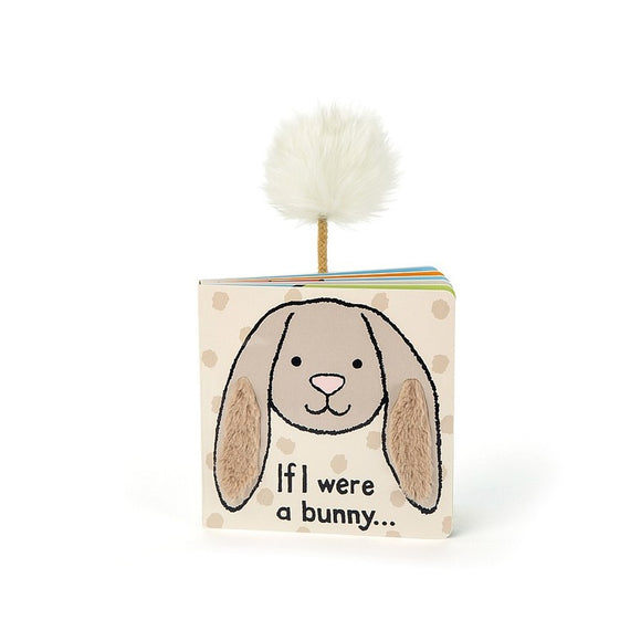 Jellycat If I Were A Bunny Book-6""
