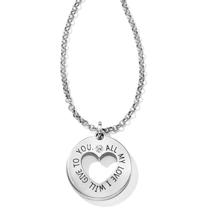 Brighton Circle Of Love Pendant Necklace