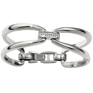 Meridian Swing Duet Hinged Bangle - Jewelry - SierraLily