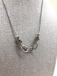 j & i Labradorite & Ruby Necklace - Jewelry - SierraLily