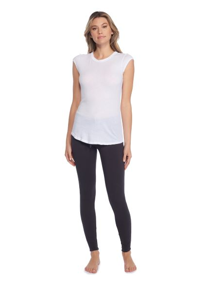 Barefoot Dreams Malibu Collection® Women's Loose Jersey Cap Sleeve
