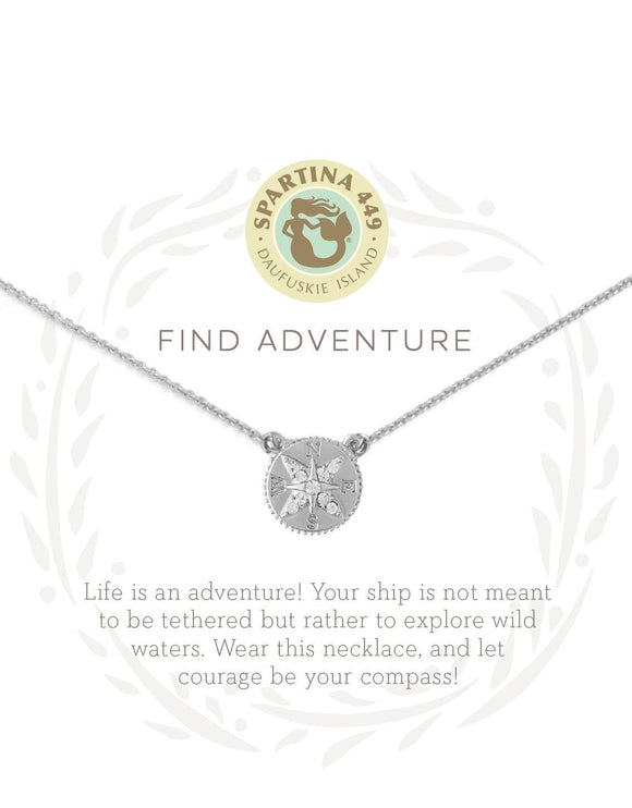 Sea La Vie Adventure Compass Necklace - Jewelry - SierraLily