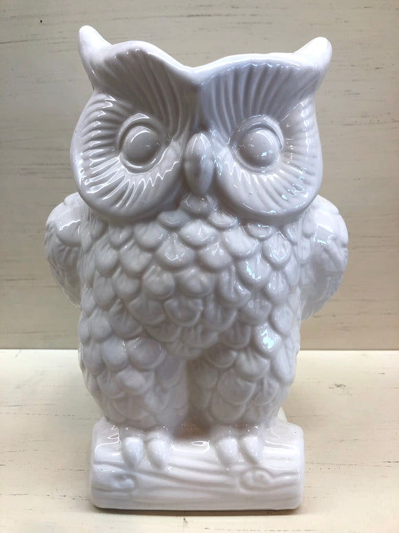 Owl Vase/Pitcher