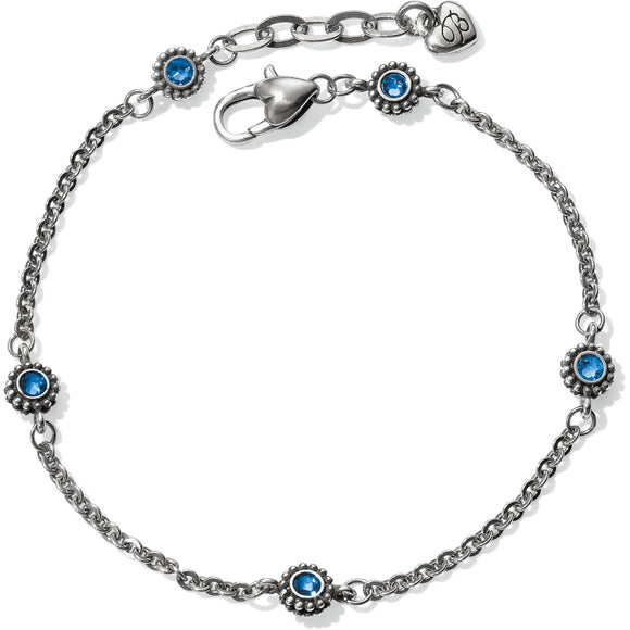 Brighton Twinkle Sapphire Anklet