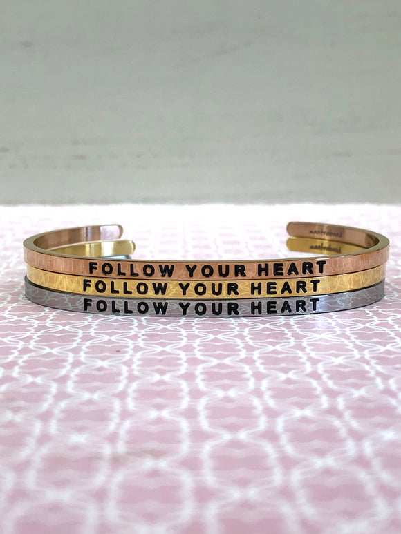 Follow Your Heart MantraBand - Jewelry - SierraLily