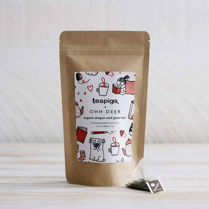 teapigs + Ohh Deer Special Edition Organic Dragonwell