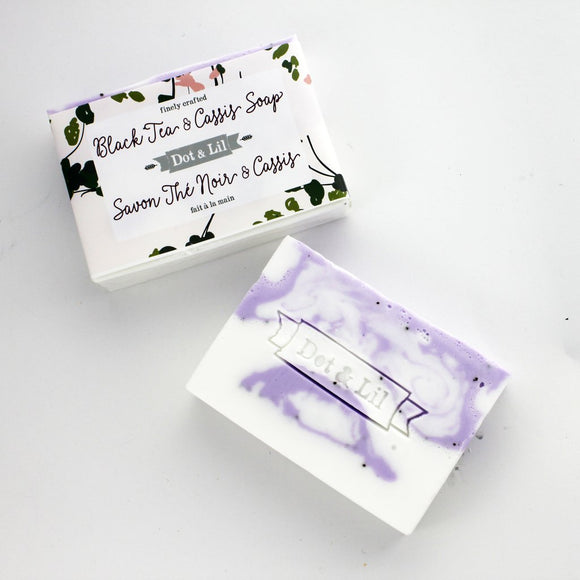 Dot & Lil Black Tea and Cassis Soap - Bath & Body - SierraLily